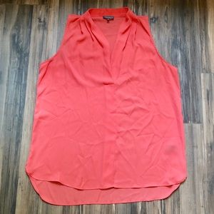 Vince Camuto | Sleeveless Coral Blouse